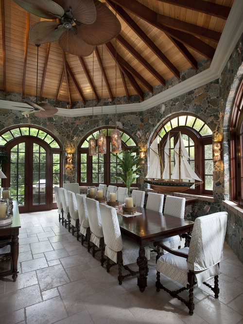 Best tropical dining room design ideas remodel pictures for Tropical dining room
