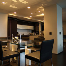 Contemporary Dining Room by Beyond Home Theater
