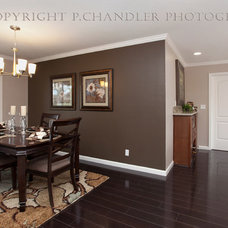 Contemporary Dining Room by P. Chandler, Photographer