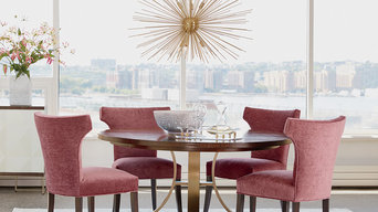 A NOD TO ART DECO DINING ROOM