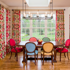 Traditional Dining Room by J R Design Coordinates, LLC