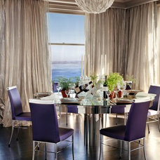 Contemporary Dining Room by Andrew Skurman Architects