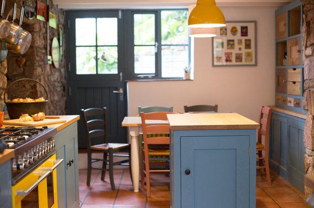 Cuisine de la Semaine : Couleur et créativité dans un petit cottage