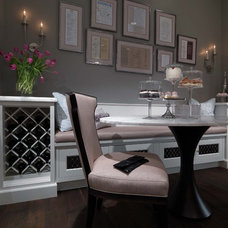 Traditional Dining Room by Plain & Fancy Custom Cabinetry