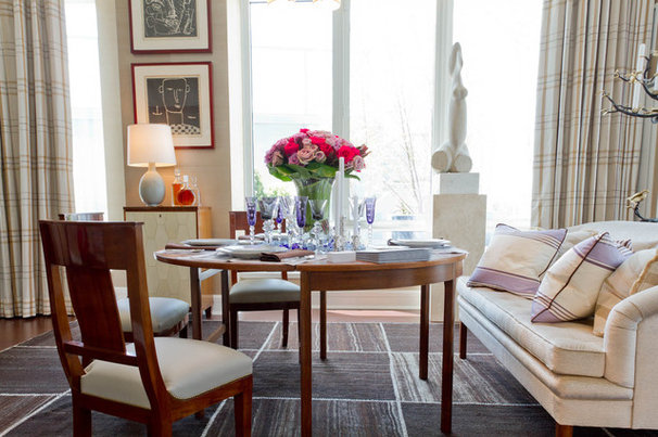 Contemporary Dining Room by Rikki Snyder