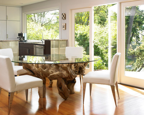 Driftwood Dining Table  Houzz