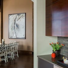 Modern Dining Room by Venegas and Company