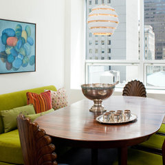 modern dining room by Kristen Rivoli Interior Design