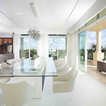 A WATERFRONT PENTHOUSE