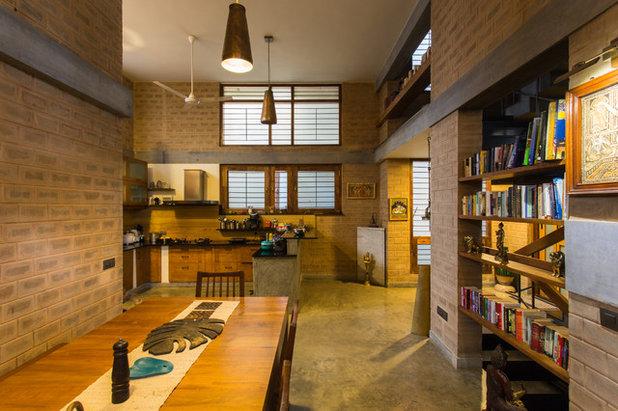 Indian Dining Room by Chitra Vishwanath
