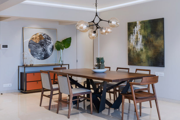 Contemporary Dining Room by Neha Kachhara Interiors
