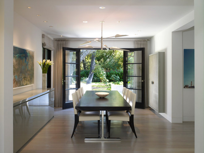Contemporary Dining Room by thinkpure