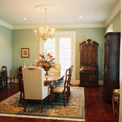 traditional dining room by Soorikian Architecture