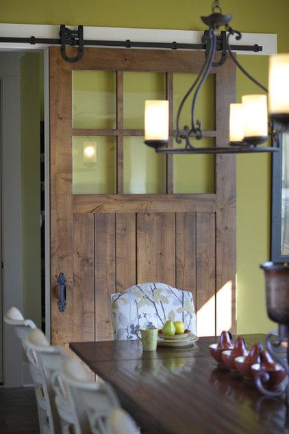 Modern Dining Room by Weaver Custom Homes