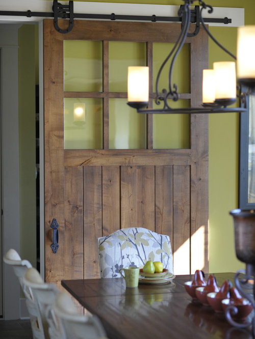 Barn Door With Window Home Design Ideas Pictures Remodel