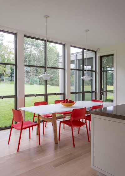 Contemporary Dining Room by Infusion Furniture