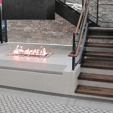 Acucraft Custom Gas Indoor Fire Pits