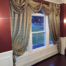 Traditional Dining Room by A&E RENOVATIONS