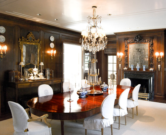 Traditional Dining Room by J Wilson Fuqua & Assoc. Architects