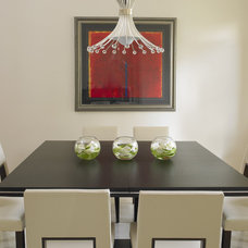 contemporary dining room by Causa Design Group
