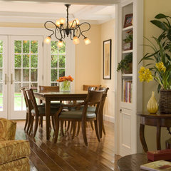 traditional dining room by Thomas Saxby Architect