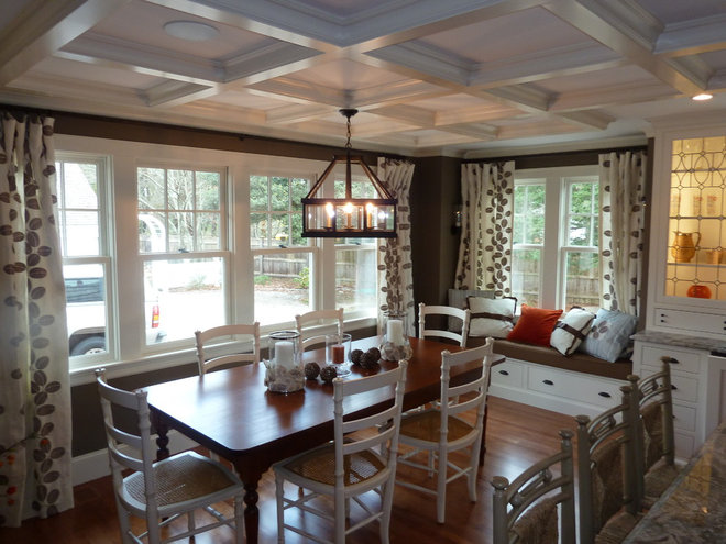 Traditional Dining Room by Nordy's Construction, Inc.
