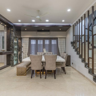 Contemporary Hyderabad Dining Room Design Ideas Inspiration Images