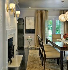 traditional dining room by Meyer & Meyer, Inc.