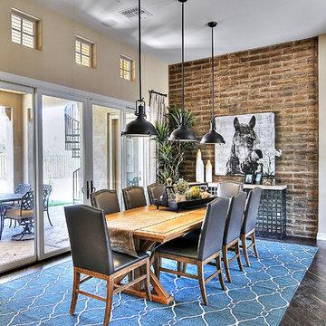 Adobe Brick Veneer Home - Coronado Thin Brick Veneer