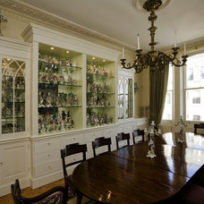 Traditional Dining Room by Adrienne Chinn Design
