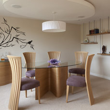 Contemporary Dining Room by Adrienne Chinn Design