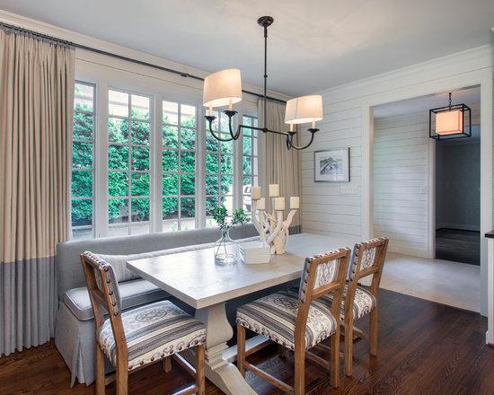 whitewashed dining table | houzz