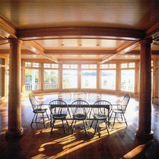 Traditional Dining Room by Advantage Contracting