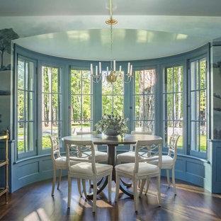 Неиссякаемый источник вдохновения для домашнего уюта: столовая в стиле кантри