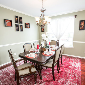 African Themed Formal Dining Room-Williamstown, NJ