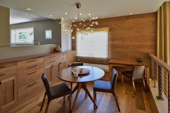 Midcentury Dining Room by Zeitgeist sonoma