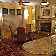 Eclectic Dining Room by InterDesign Studio