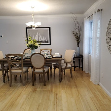 AFTER - DINING ROOM VANTAGE FROM ENTRY