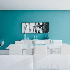 Beach Style Dining Room by Arcbazar.com