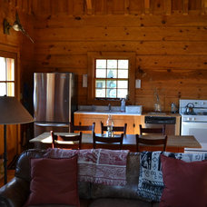 Traditional Dining Room Afton Virginia Cabin