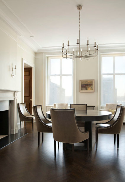 Traditional Dining Room by Ageloff & Associates