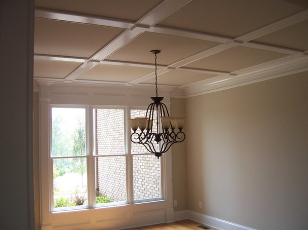 Traditional Dining Room by AHB General Contractors