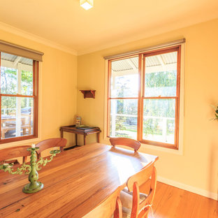 Cottage dining room photo in Other