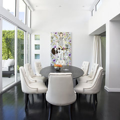 modern dining room by Craig Denis