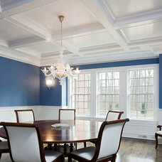 Traditional Dining Room by Akke Woodworks