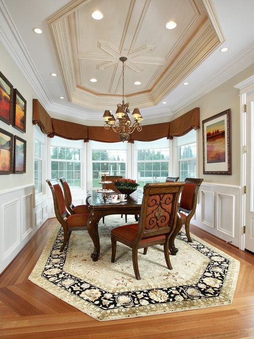 Amazing Inspiration For A Timeless Medium Tone Wood Floor Dining Room Remodel In  San Francisco With Beige