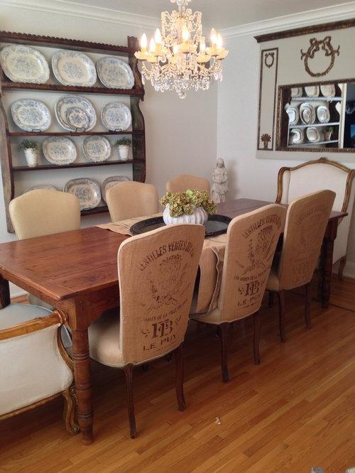 Shabby chic style san francisco dining room design ideas for Dining room ideas shabby chic