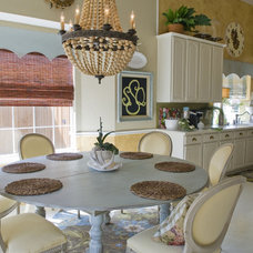 Eclectic Dining Room by Katherine Robertson Photography
