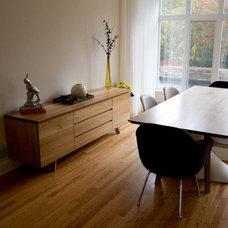 Modern Dining Room by Eastvold Furniture