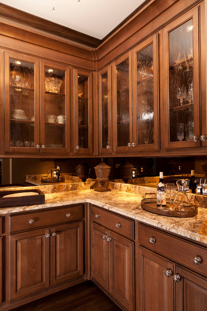 Traditional Dining Room by Custom Cupboards